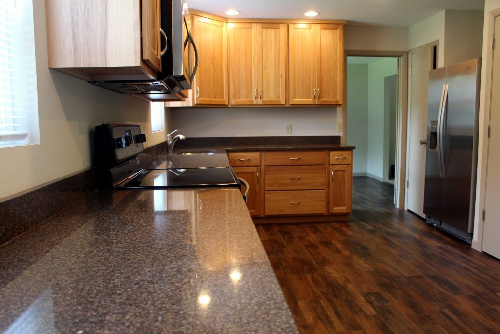 HKC cabinets in Arthur. Amish cabinets.